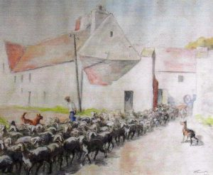 ferme-de-tanqueux-georges-hautot-illustrateur-dessinateur